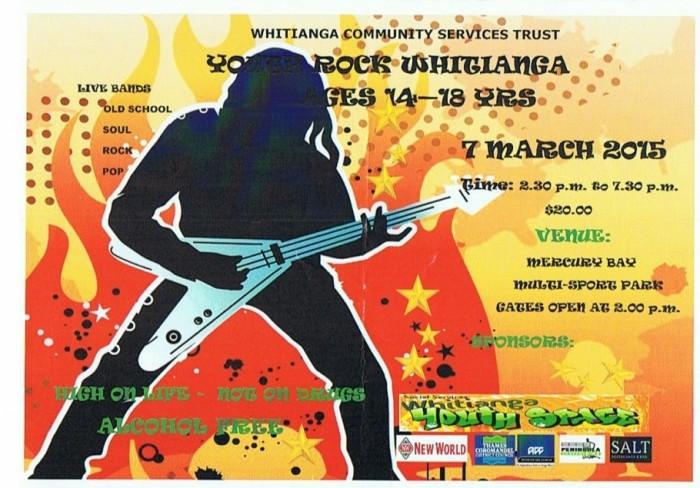 Youth Rock Whitianga