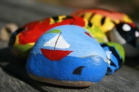 rock art school holidays programme at the Mercury Bay Museum.jpg