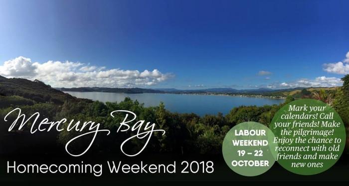 Mercury Bay Homecoming Weekend