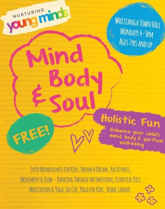 Kids Mind, Body & Soul Free Sessions