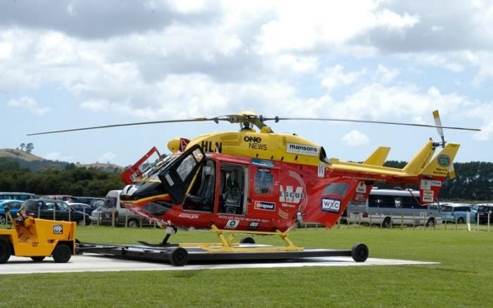 Chopper Coromandel Rescue Helicopter Trust