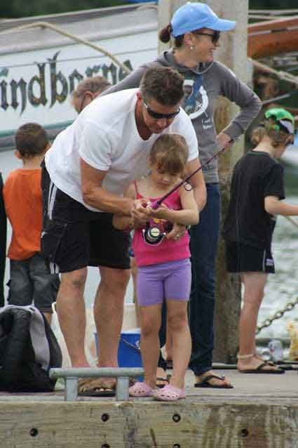 Kids Mid Winter Fishing Competition