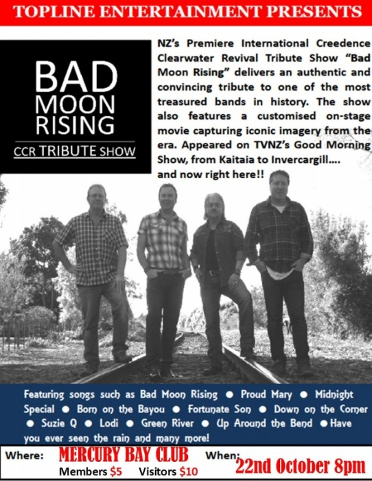 Bad Moon Rising CCR Tribute Show