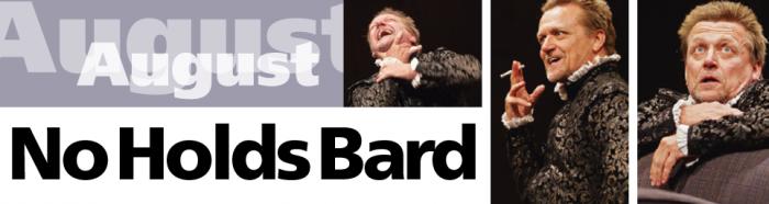 No Holds Bard - A Michael Hurst