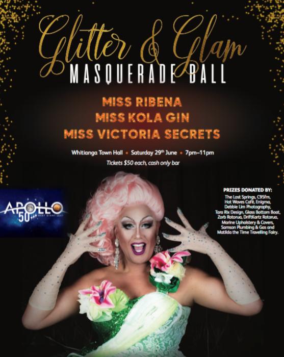 Glitter and Glam Masquerade Ball