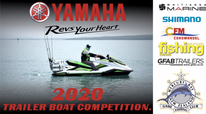 Yamaha Trailer Boat Tournament Whitianga