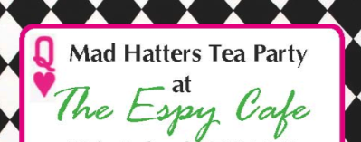 The Mad Hatters Tea Party at The Espy Cafe Whitianga