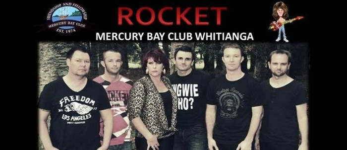 Rocket Band New Years 2016 at the Mercury Bay Club