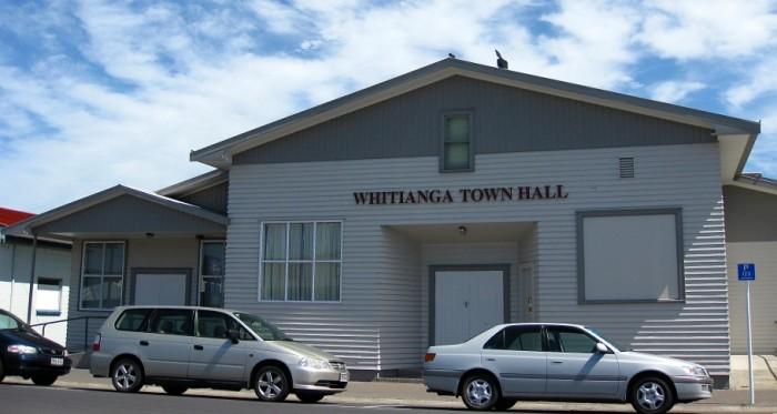 Whitianga Town Hall Monk Street Whitianga 2014