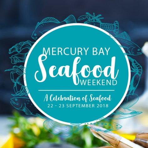 Mecury Bay Celebration of Seafood Weekend flyer