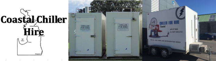 Coastal Chiller Hire Coromandel Peninsula refrigeration for hire