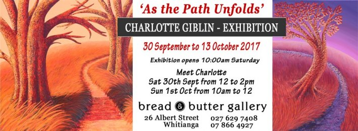 """As the Path Unfolds"" - Charlotte Giblin Art Exhibition"