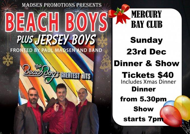 Beach Boys plus Jersey Boys