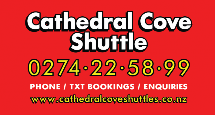 Cathedral Cove Shuttles