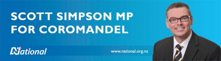 Scott Simpson MP for Coromandel