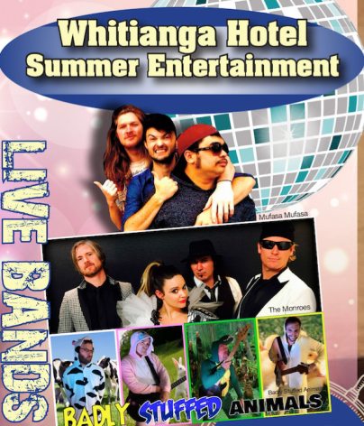 Whitianga Hotel Summer Entertainment