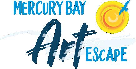 Mercury Bay Art Escape Logo