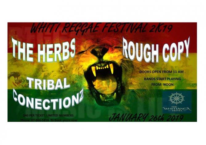Whitianga Hotel Reggae Festival 2019